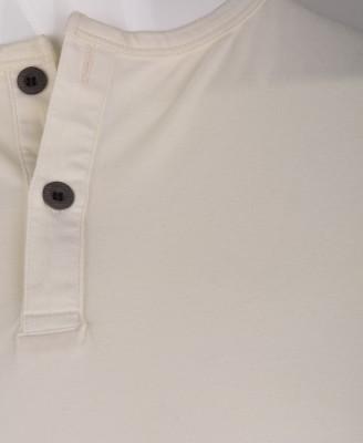 %100 Pamuk Düğmeli T-shirt (1207) - Thumbnail