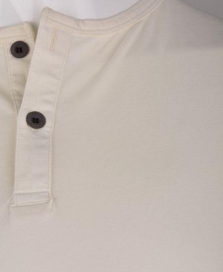 %100 Pamuk Düğmeli T-shirt (1207)