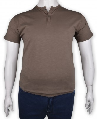 ZegSlacks - %100 Pamuk Düğmeli T-shirt (1210)