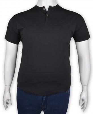 ZegSlacks - %100 Pamuk Düğmeli T-shirt Antrasit (1215)