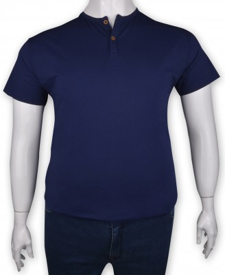 ZegSlacks - %100 Pamuk Düğmeli T-shirt (1219)
