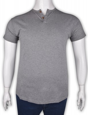 ZegSlacks - %100 Pamuk Düğmeli T-shirt (2091)