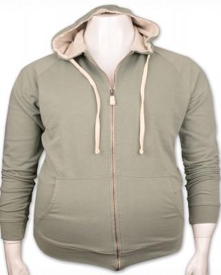 ZegSlacks - %100 PAMUK Kapişonlu Sweatshirt (4277)/Çağla Yeşil