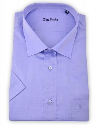 ZegSlacks - %100 Pamuk süper ince kısa kol klasik gömlek (2066)