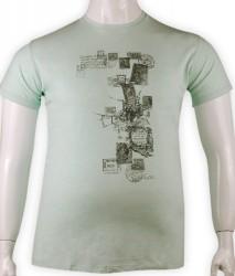 ZegSlacks - %100 Pamuk baskılı t-shirt (6252)