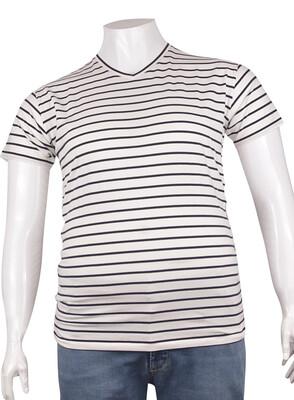 ZegSlacks - V Yaka Basic T-Shirt (tst0277)