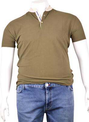 ZegSlacks - Pike Kumaş Düğmeli T-Shirt (dy0370)