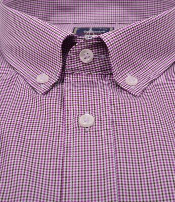 ZegSlacks - % 100 Pamuk Uzun Kol Yazlık Spor Gömlek (gml3040)