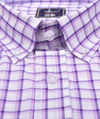 ZegSlacks - % 100 Pamuk Kısa Kol Gömlek (3036)