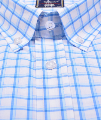 ZegSlacks - % 100 Pamuk Kısa Kol Gömlek (3040)