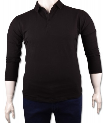 ZegSlacks - Siyah Piquet Polo Yaka Sweatshirt(psw4134)