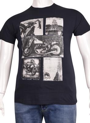 ZegSlacks - Sıfır Yaka Baskılı T-Shirt (BKT0314)