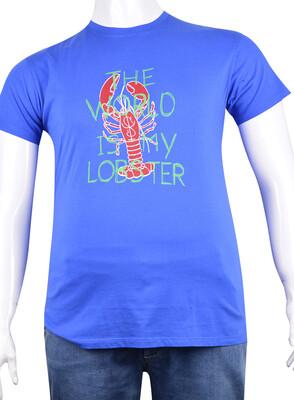 ZegSlacks - Sıfır Yaka Baskılı T-Shirt (BKT0335)